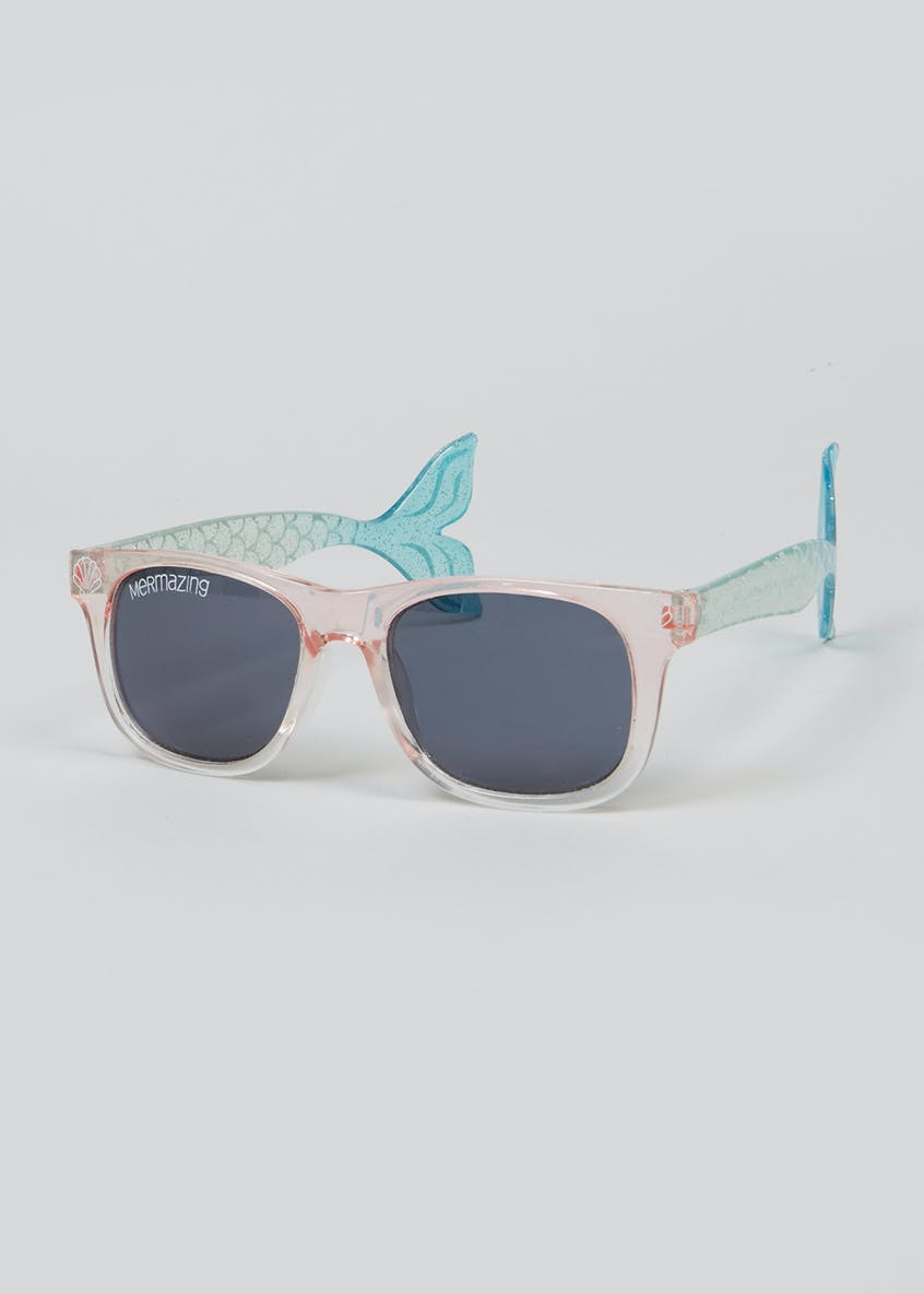 Kids Mermaid Sunglasses (One Size)