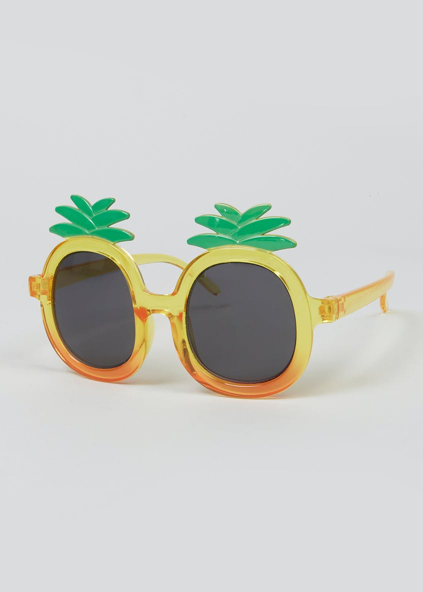 Kids Pineapple Sunglasses (One Size)