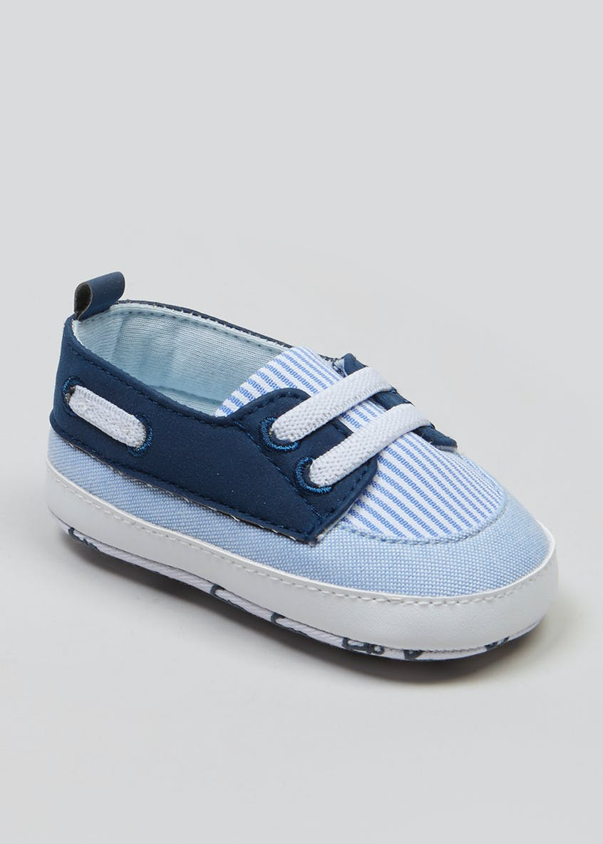 Unisex Soft Sole Baby Boat Shoes (Newborn-18mths)