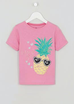 Girls Island Girl Slogan T-Shirt (4-13yrs)