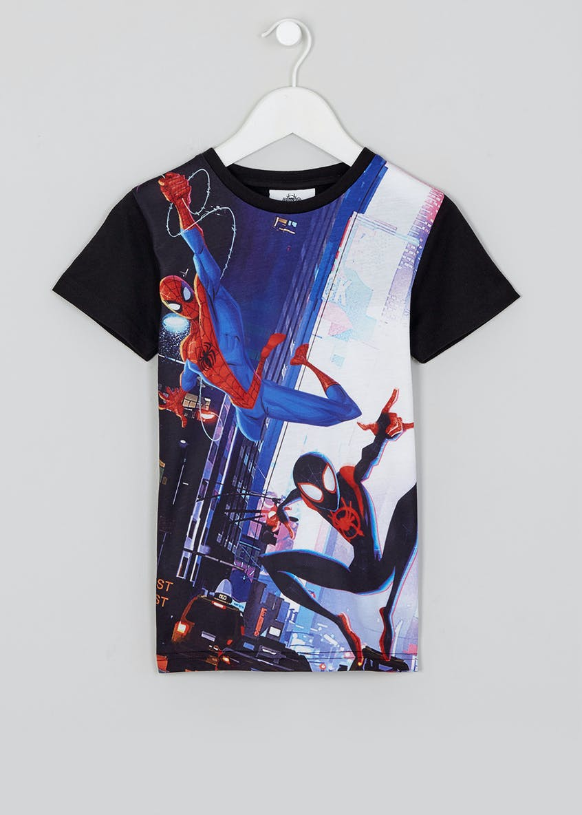 Kids Spider-Man Animation T-Shirt (12mths-7yrs)