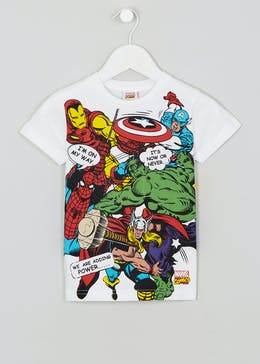 Kids Marvel Comics T-Shirt (12mths-7yrs)