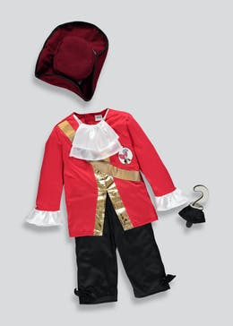 Kids Disney Captain Hook Fancy Dress Costume (3-8yrs)