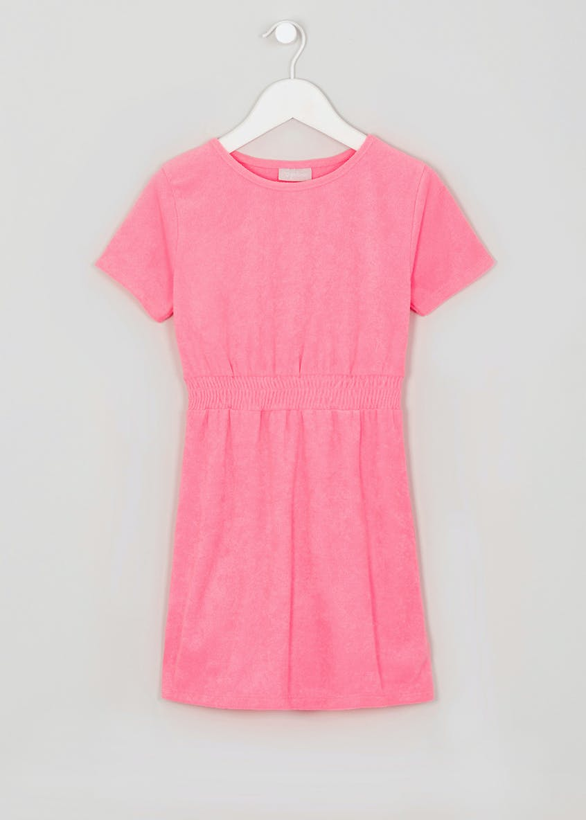 Girls Towelling Dress (4-13yrs)