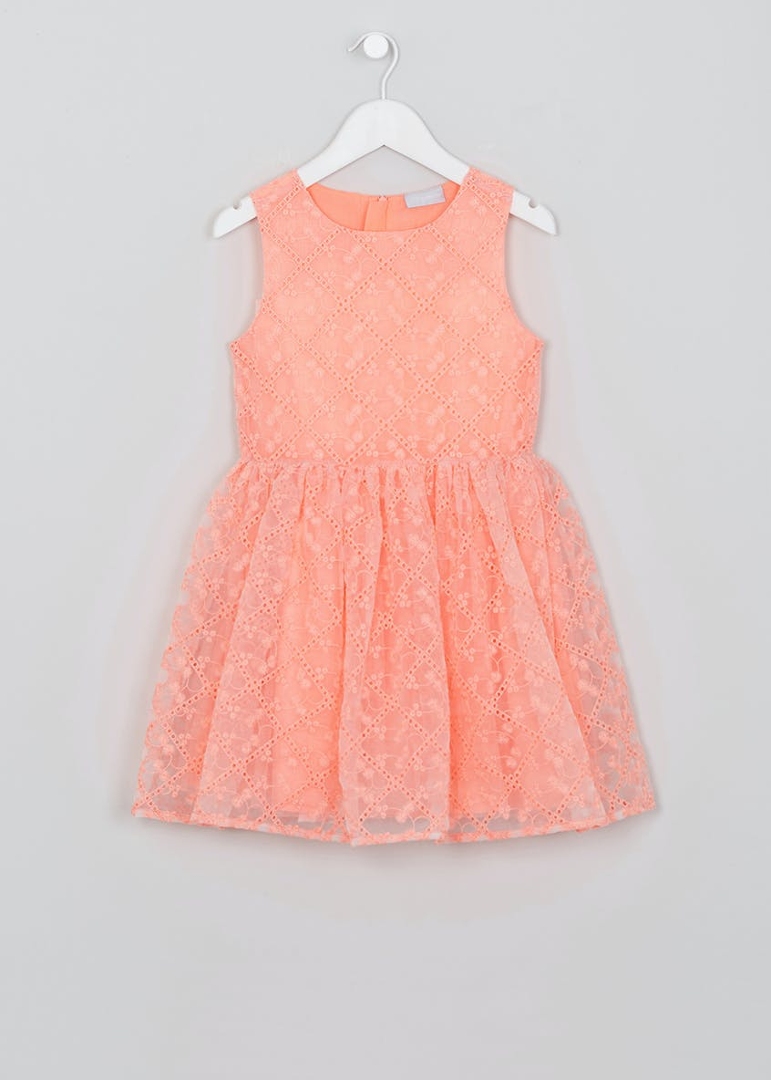 Girls Lace Occasion Dress (4-13yrs)