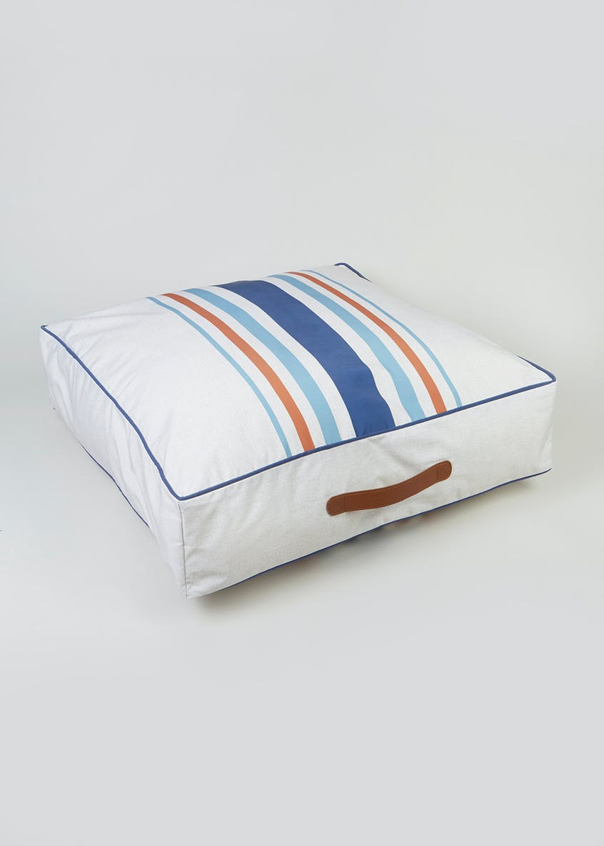 Nevada Stripe Floor Cushion (59cm x 59cm)