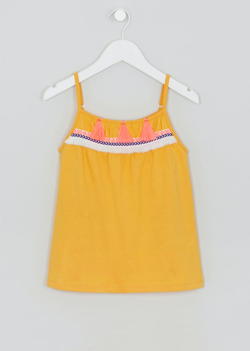 Girls Tassel Vest (4-13yrs)
