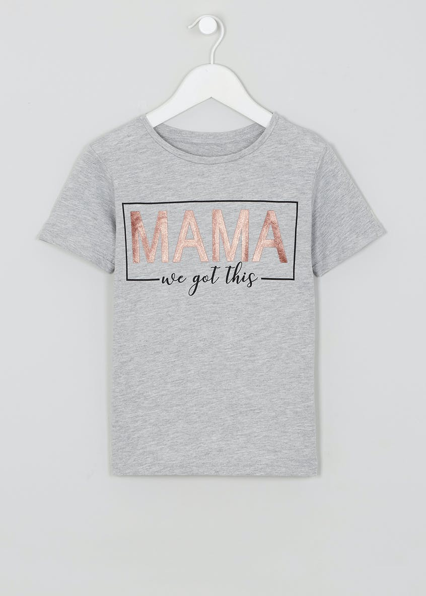 Mama Slogan T-Shirt (9mths-10yrs)