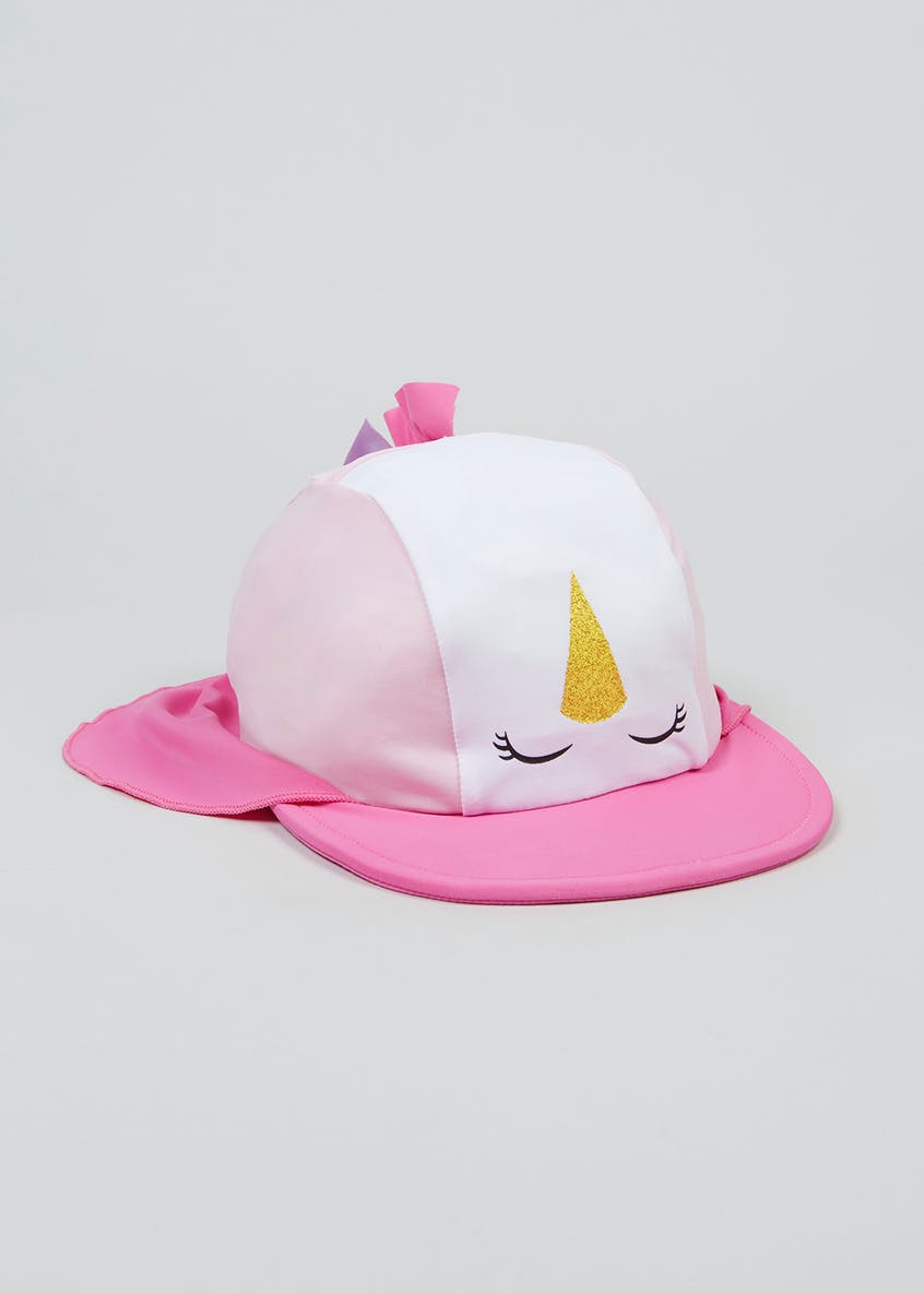 Kids 3D Unicorn Surf Hat (6mths-4yrs)