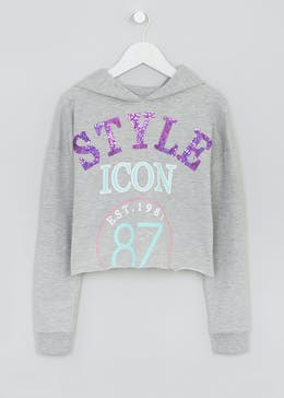Girls Candy Couture Slogan Hoodie (9-16yrs)