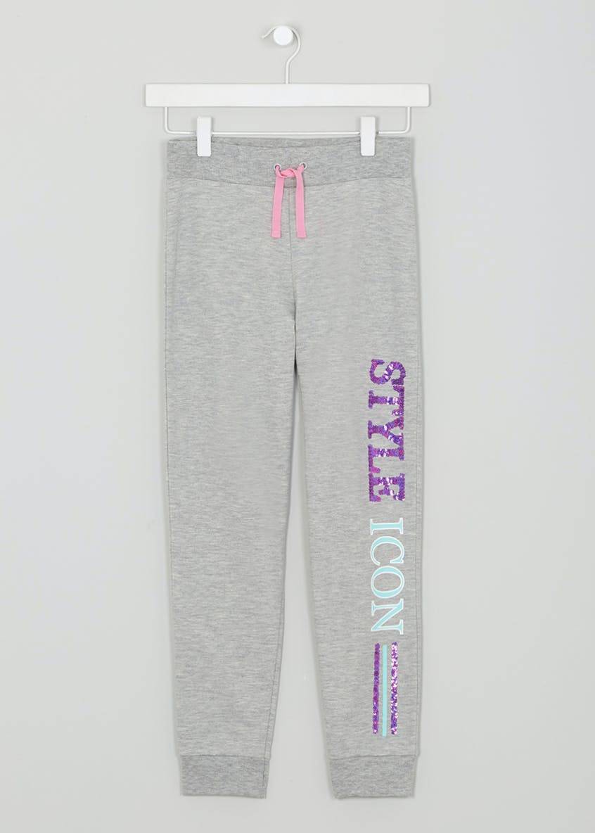 Girls Candy Couture Slogan Jogging Bottoms (9-16yrs)