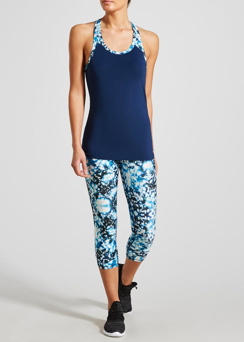 Souluxe Printed Sports Vest