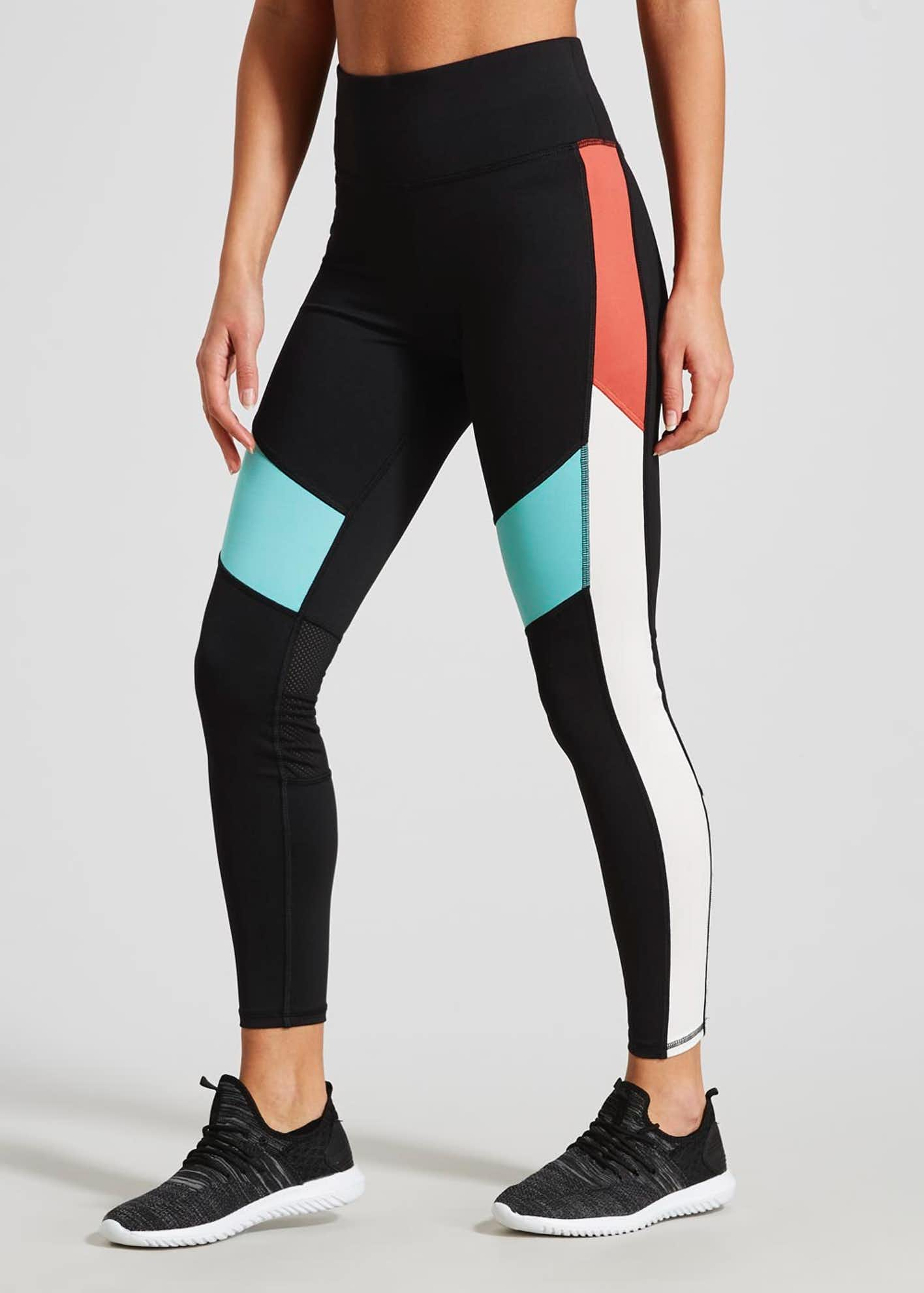 Souluxe Panel Sports Leggings