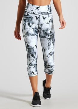 Souluxe Printed Capri Gym Leggings