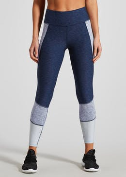 Souluxe Marl Panel Gym Leggings