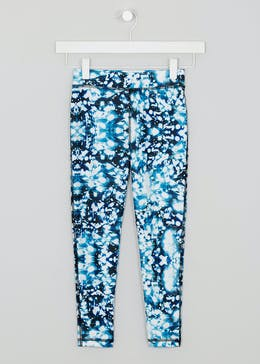 Girls Souluxe Printed Sports Leggings (4-13yrs)