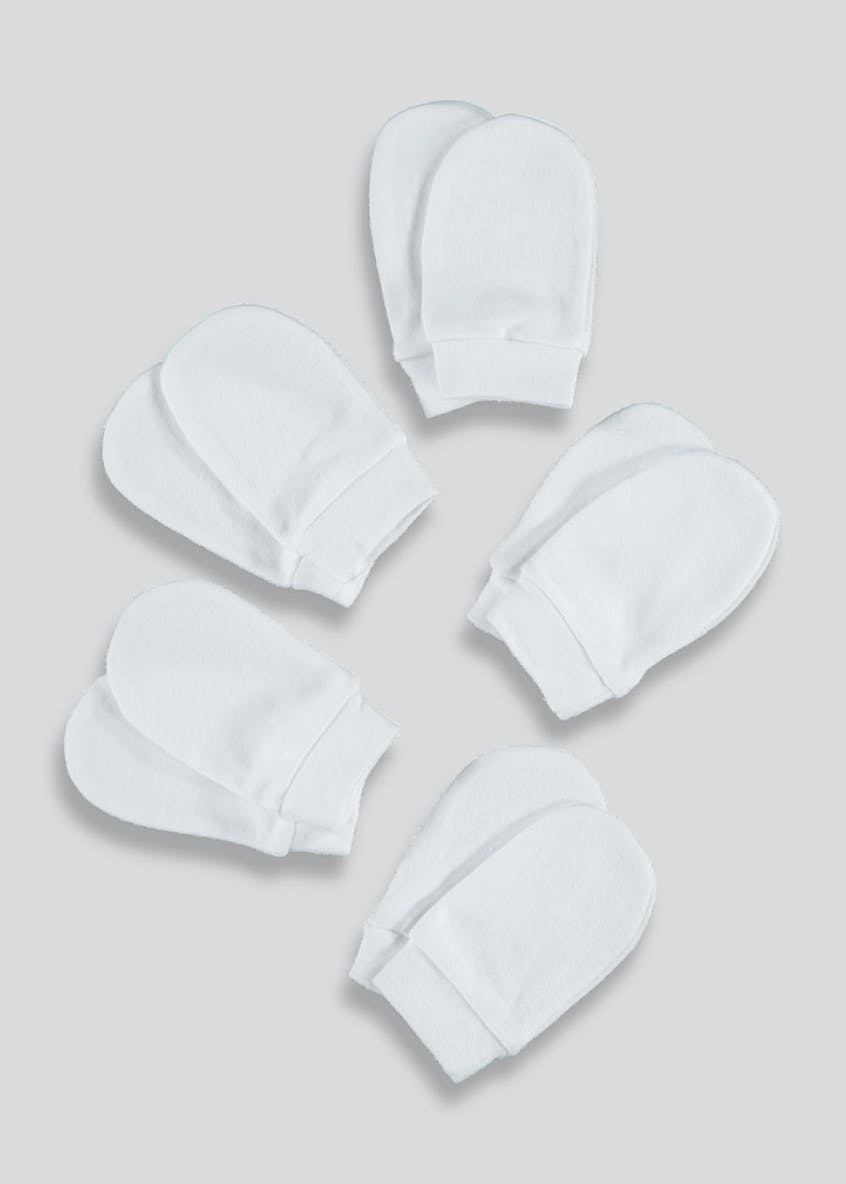 5 Pack Scratch Mitts (One Size)