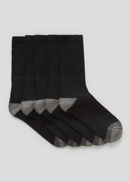 5 Pack Work Socks