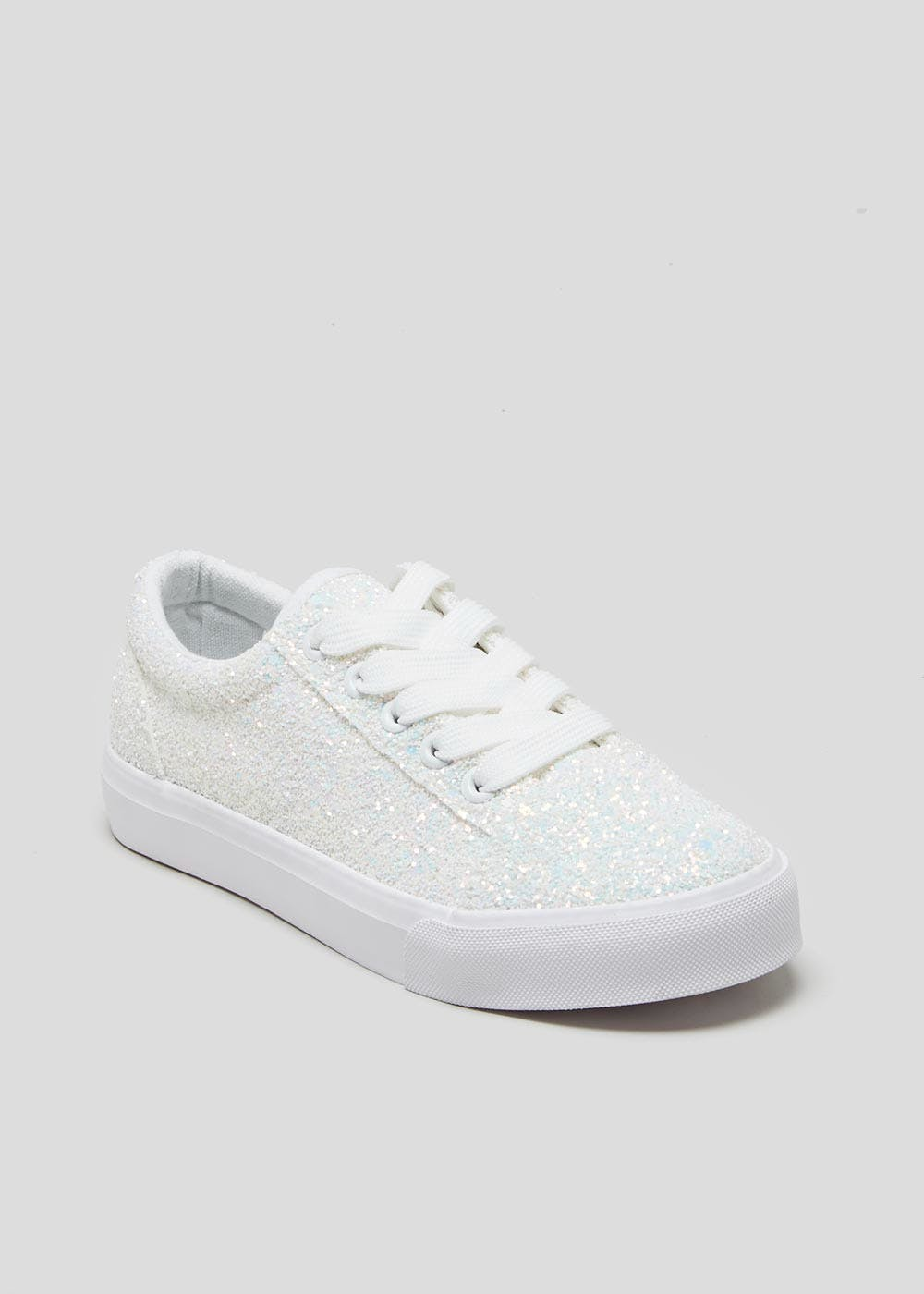 Kids Glitter Trainers (Younger 10-Older