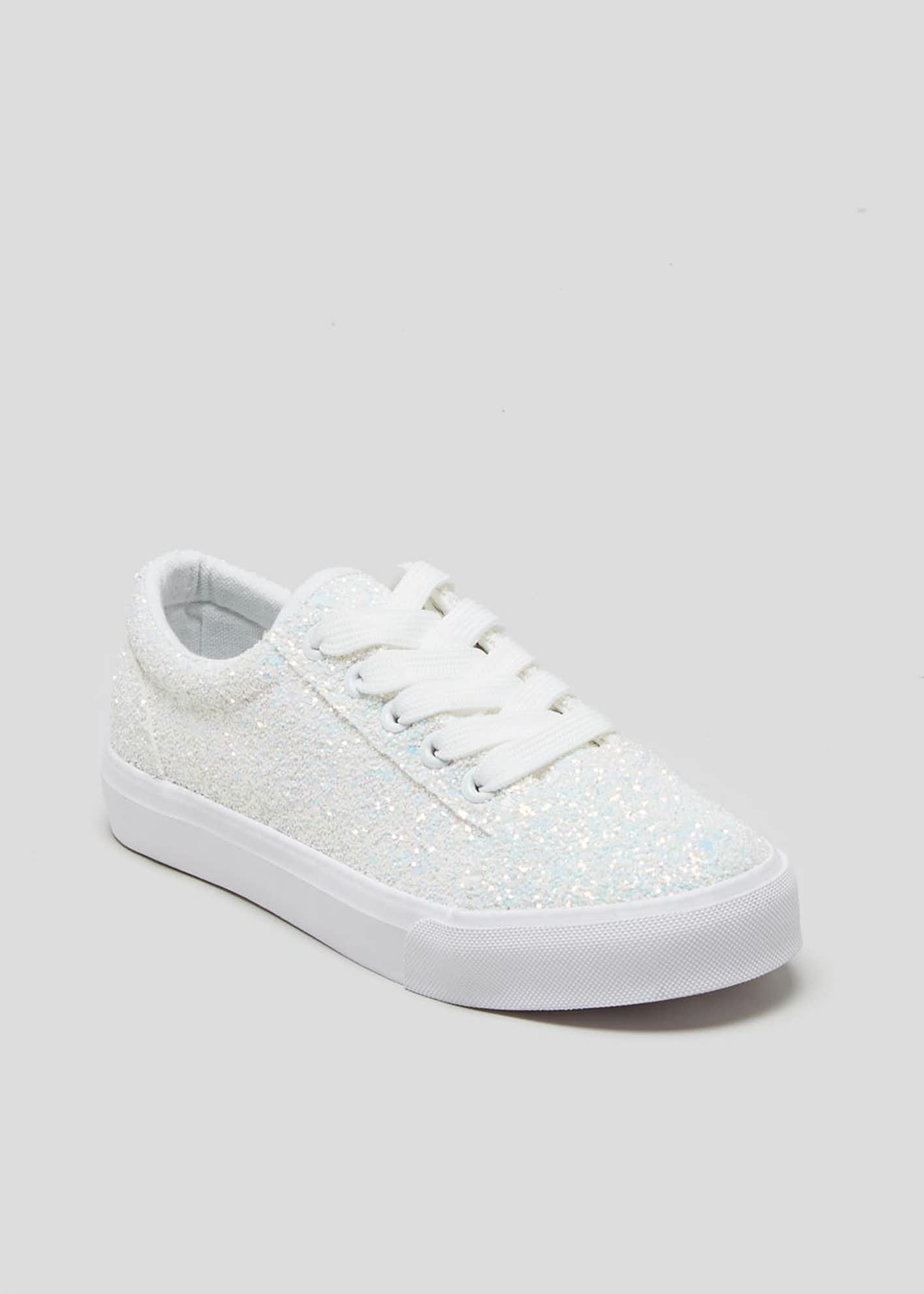 Kids Glitter Trainers (Younger 10-Older 5)