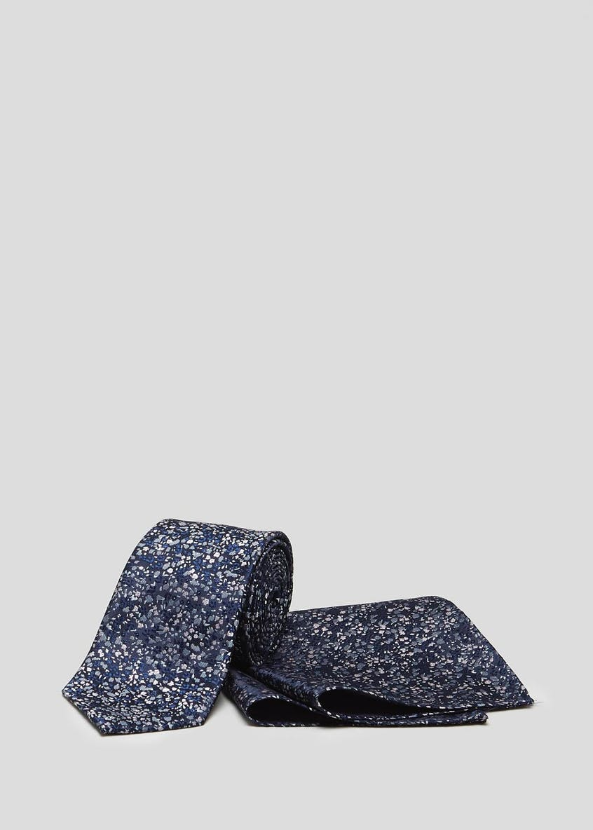 Ditsy Floral Tie & Pocket Square