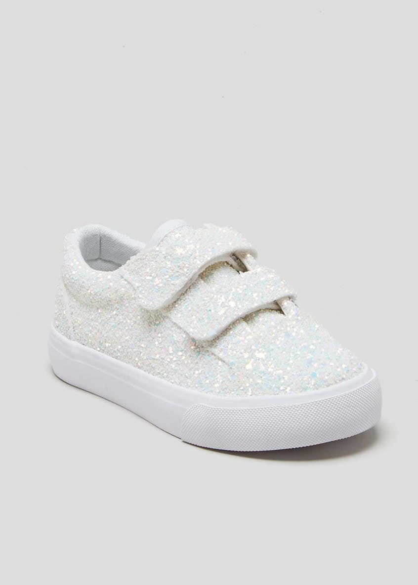 Kids Glitter Trainers (Younger 4-12)