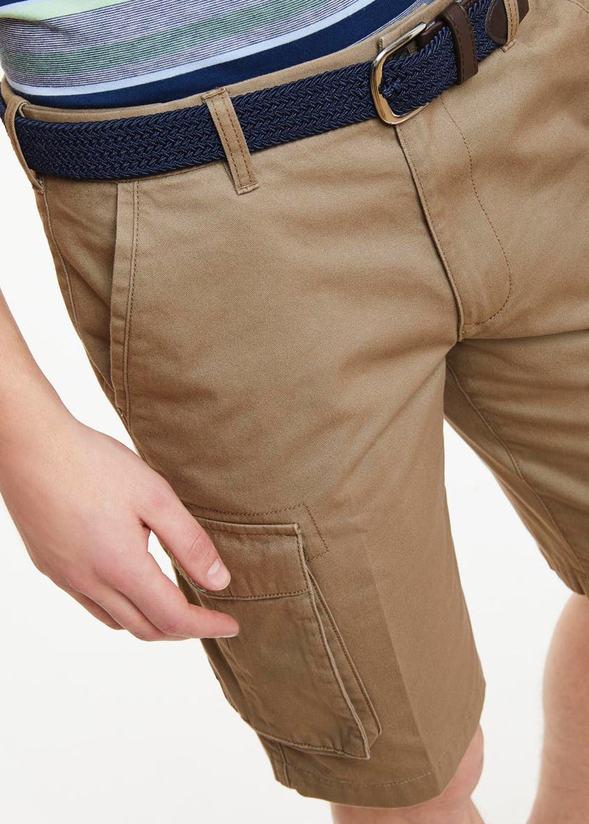 Lincoln Belted Utility Shorts