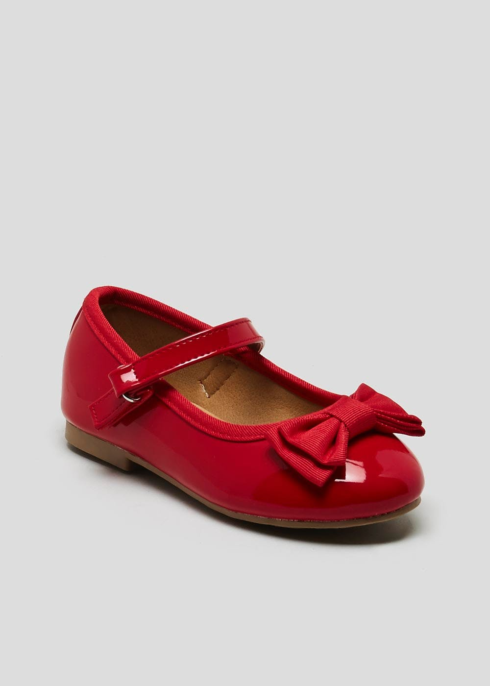 173b44700366 Girls Patent Bow Ballet Shoes (Younger 4-12) – Red – Matalan