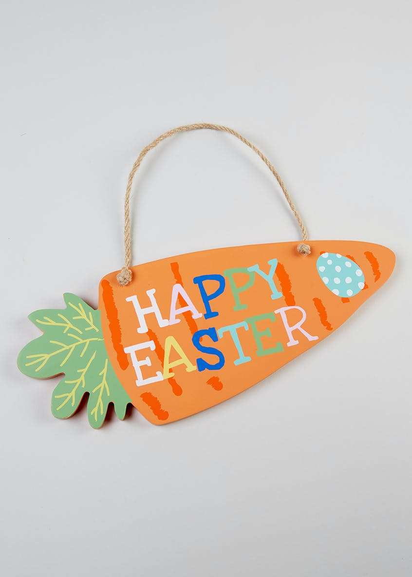 Easter Hanging Sign (30cm x 12cm x 9cm)