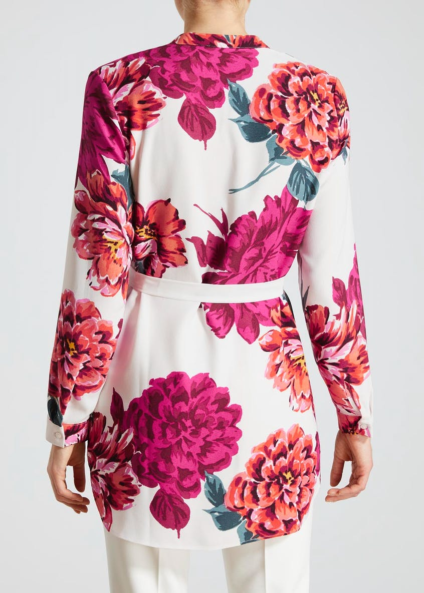 Soon Floral Belted Tunic