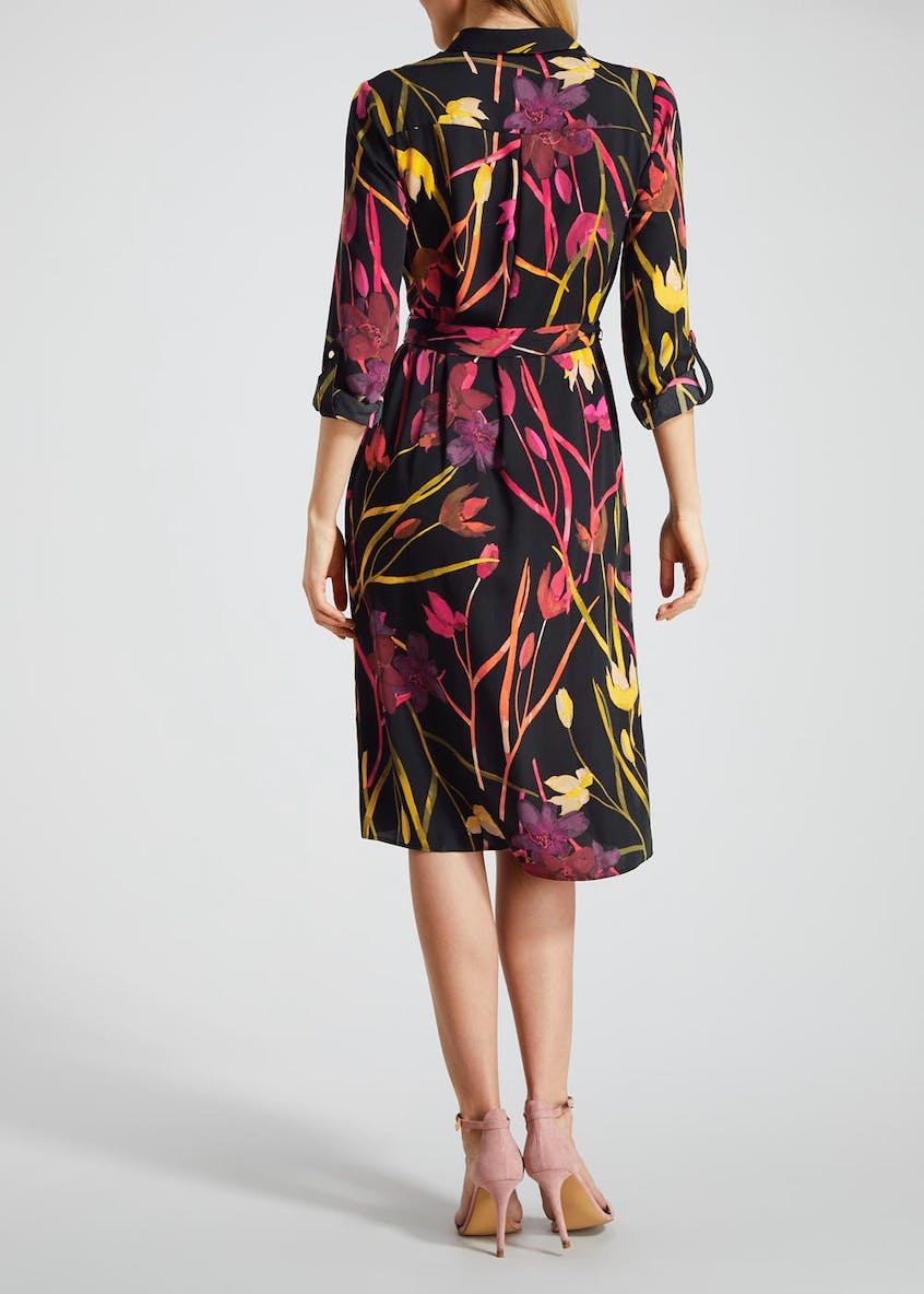 Soon Tulip Midi Shirt Dress