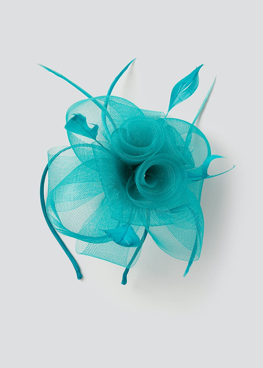 Net  Rose Fascinator