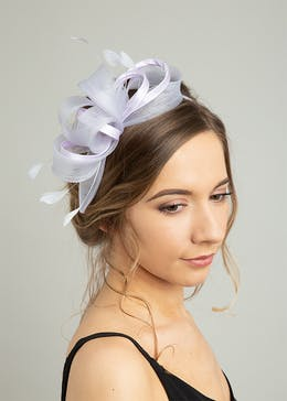 Loop Satin Fascinator