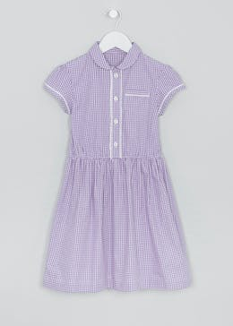 Girls Traditional Gingham School Dress (3-13yrs)