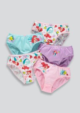 Girls Disney Ariel Knickers (4-9yrs)