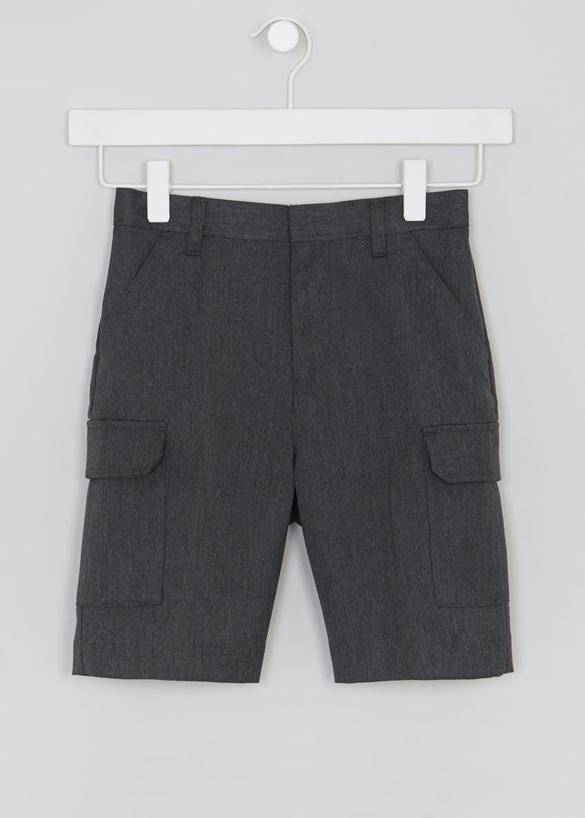 Boys Cargo School Shorts (3-13yrs)