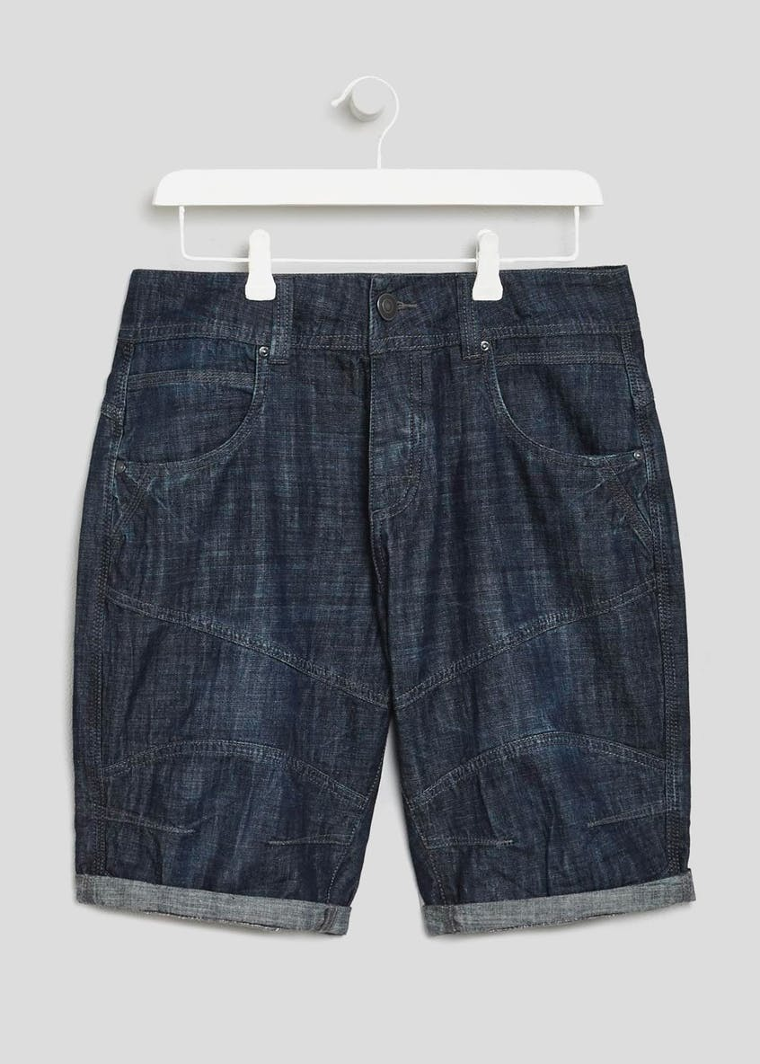 Straight Fit Utility Shorts