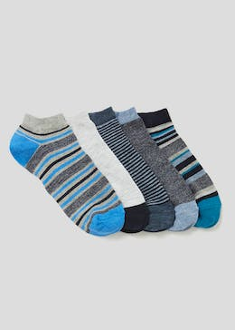 5 Pack Cotton Rich Trainer Socks