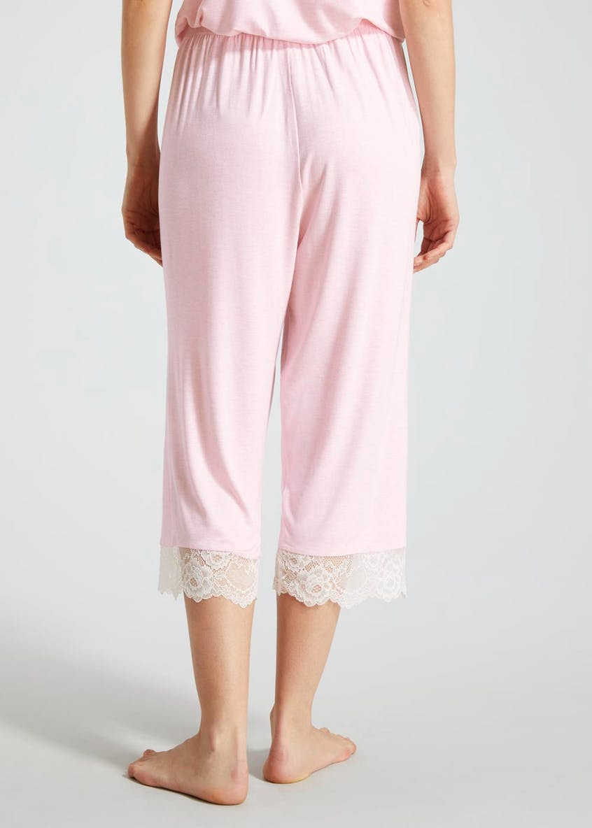 Viscose Cropped Pyjama Bottoms