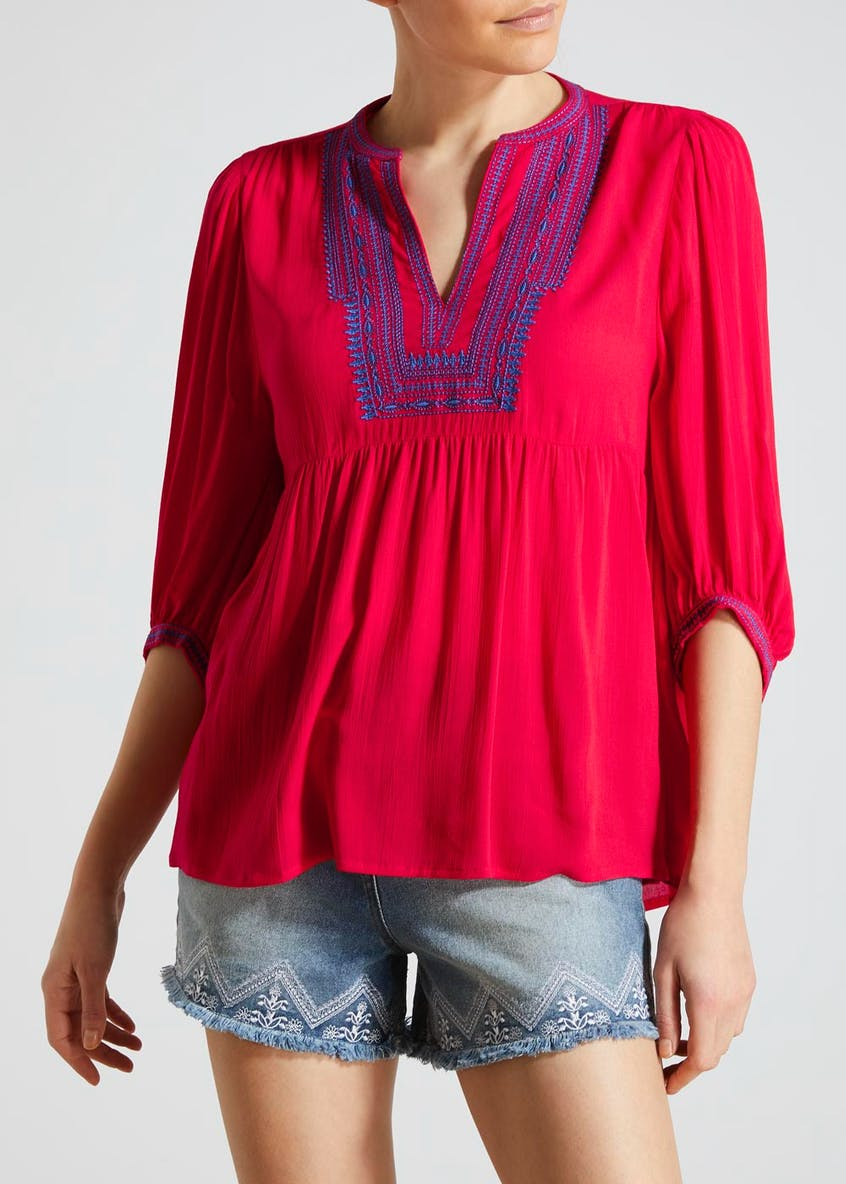 Falmer Embroidered Blouse
