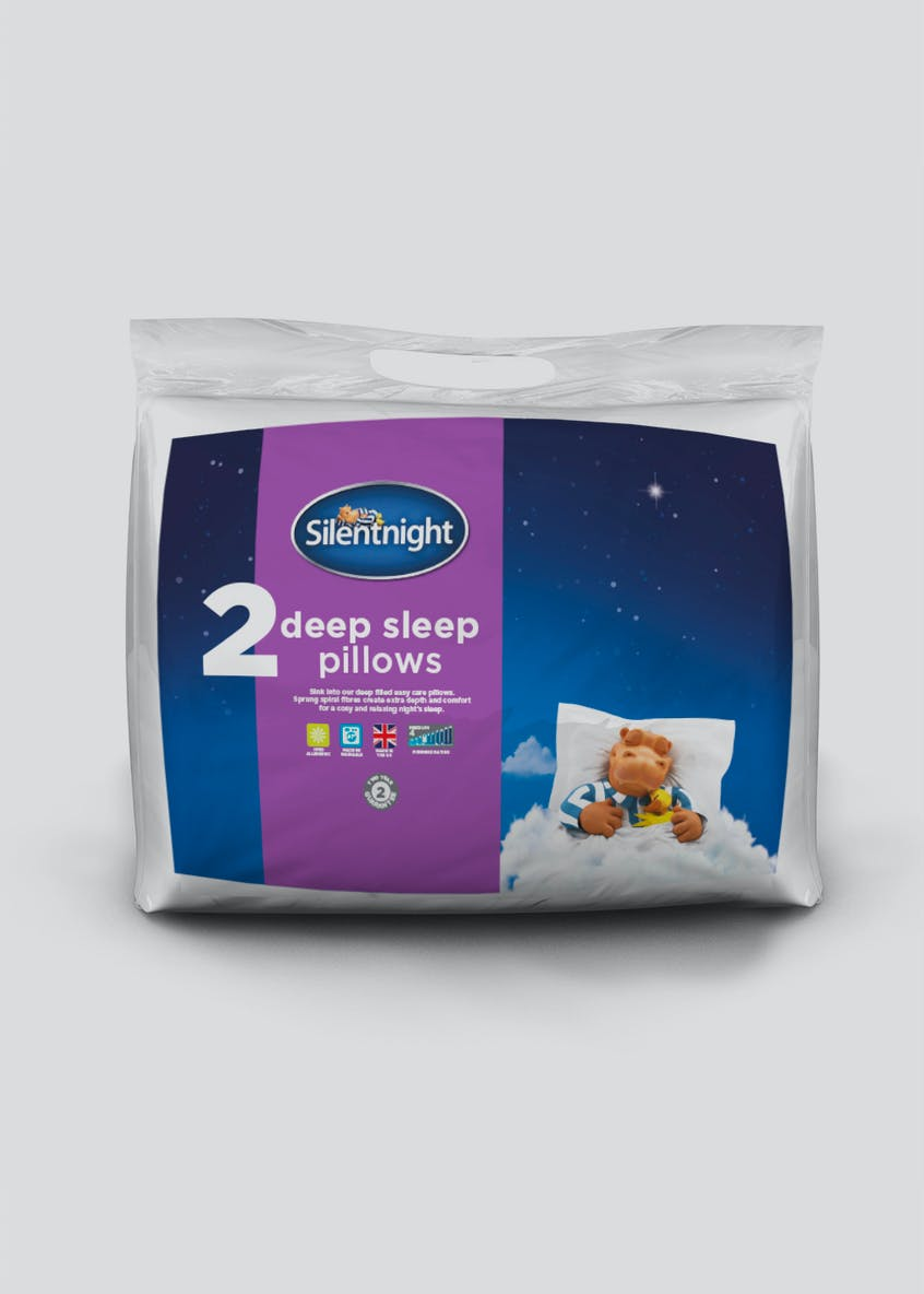 Silentnight Deep Sleep Pillow Pair
