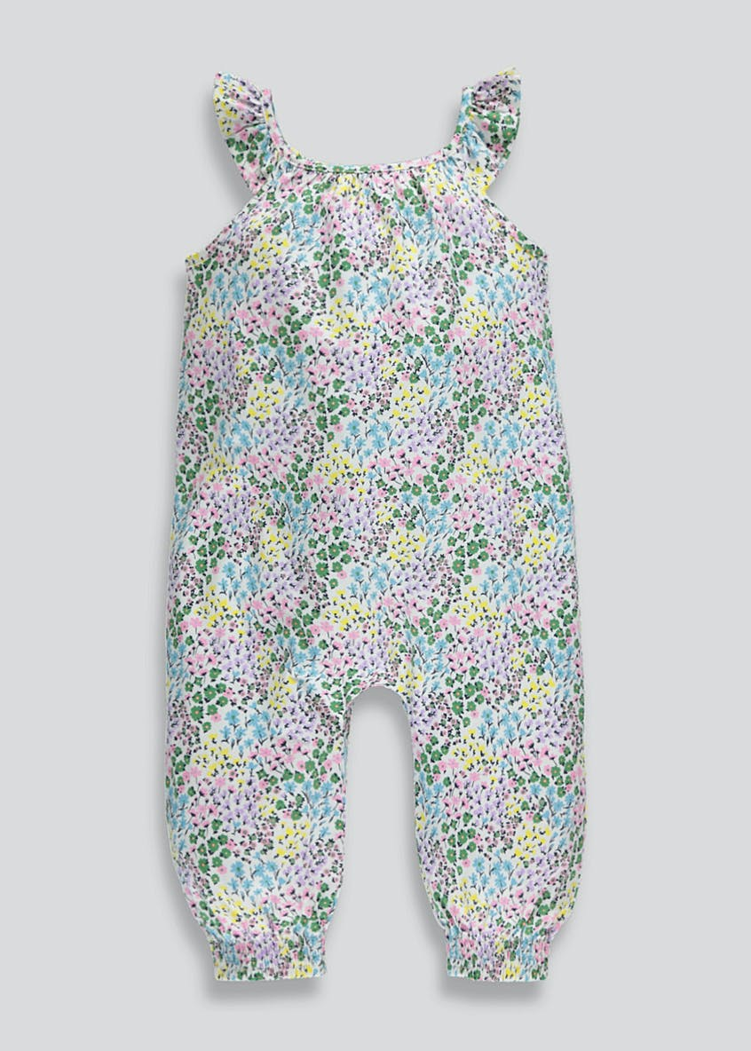 Girls Floral Jumpsuit (9mths-6yrs)