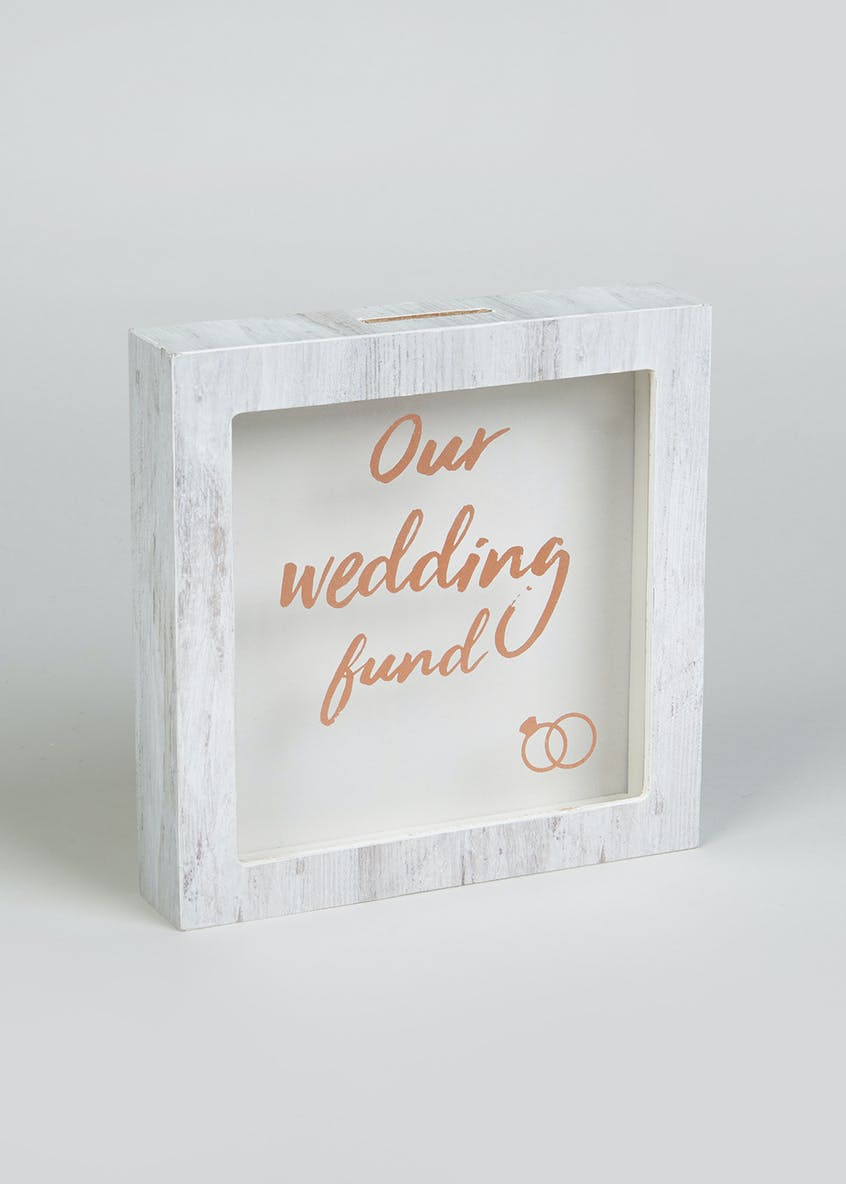 Wedding Fund Money Box (15cm x 15cm x 3cm)