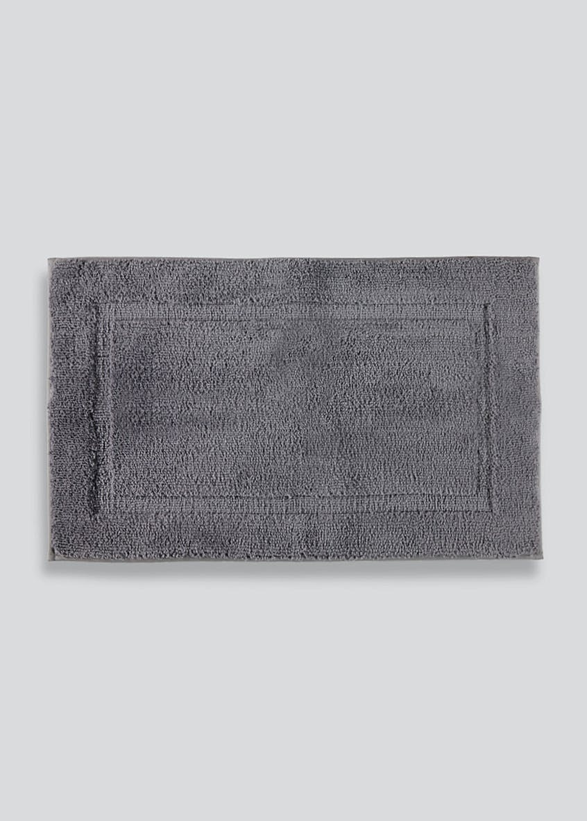 Carved Border Bath Mat (80cm x 50cm)