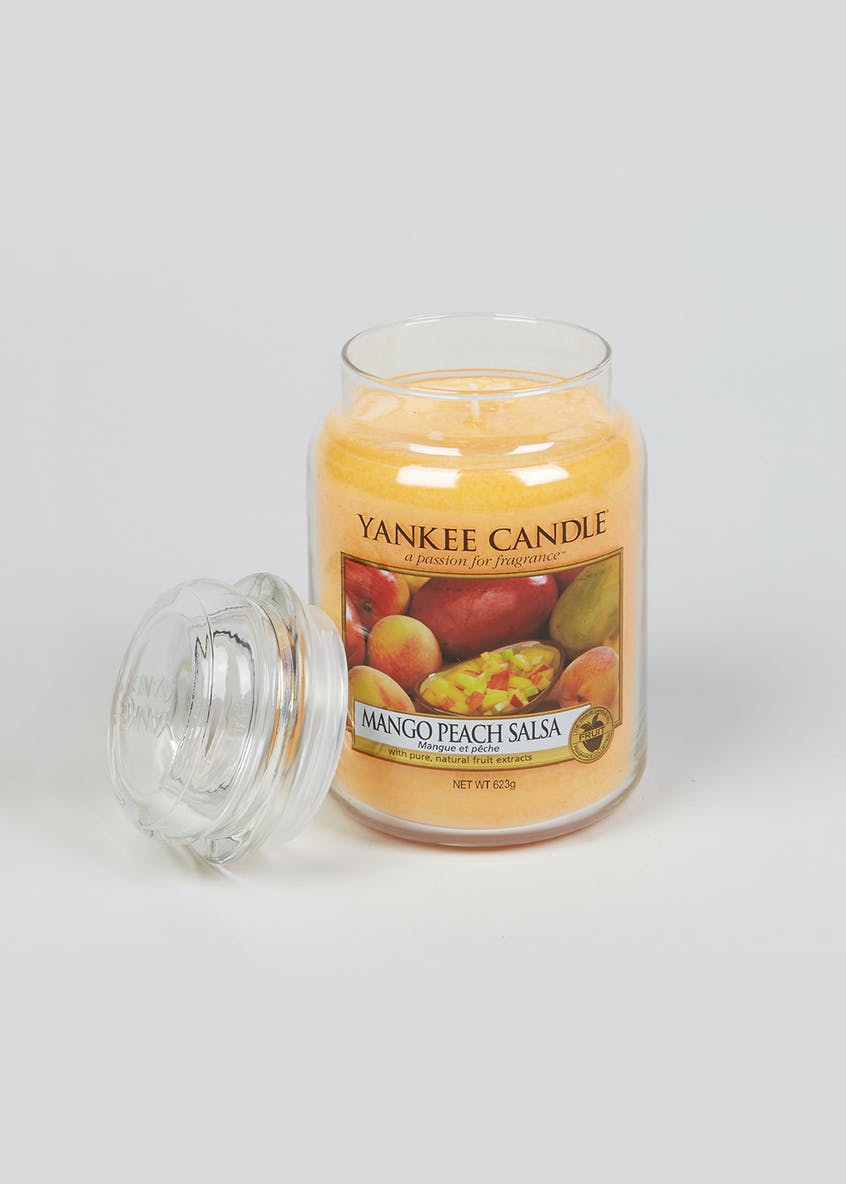Yankee Candle Mango Peach Salsa Large Jar