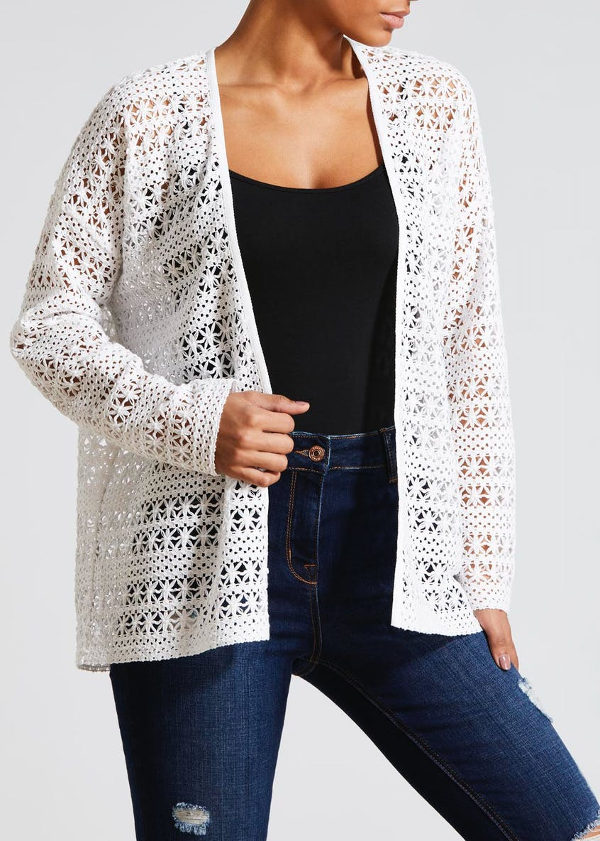 Open Stitch Cardigan