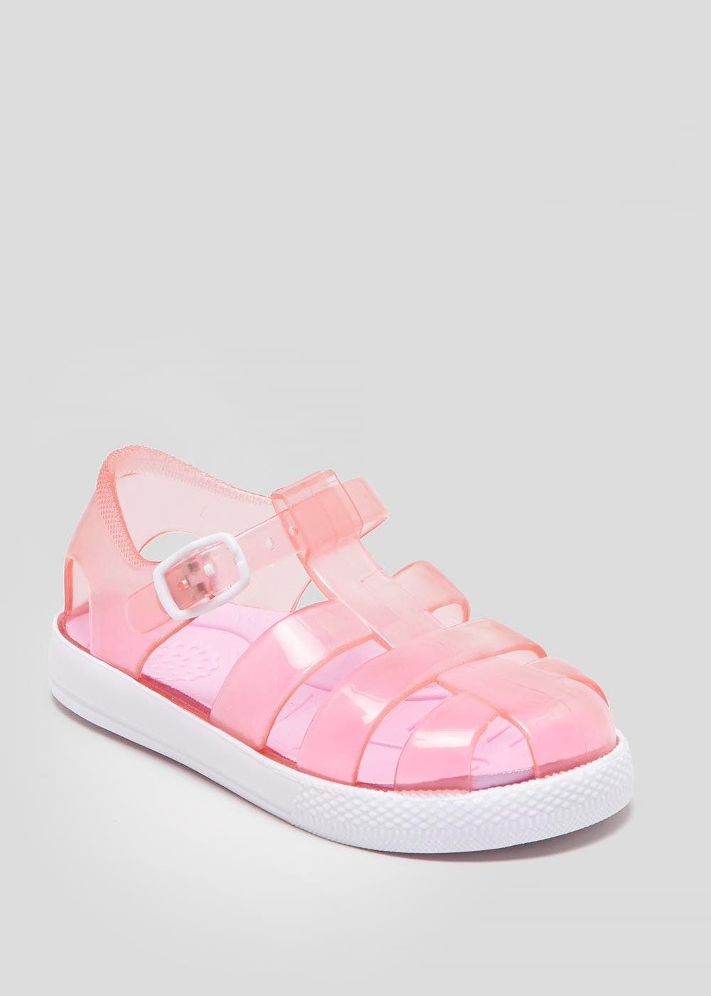 f70ae8ee96cd Kids Caged Jelly Shoes (Younger 4-12) – Pink – Matalan