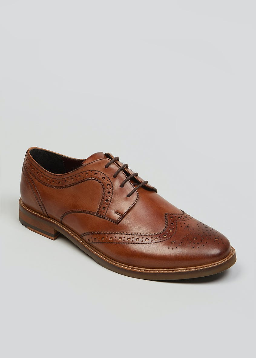 Taylor & Wright Real Leather Gibson Brogues