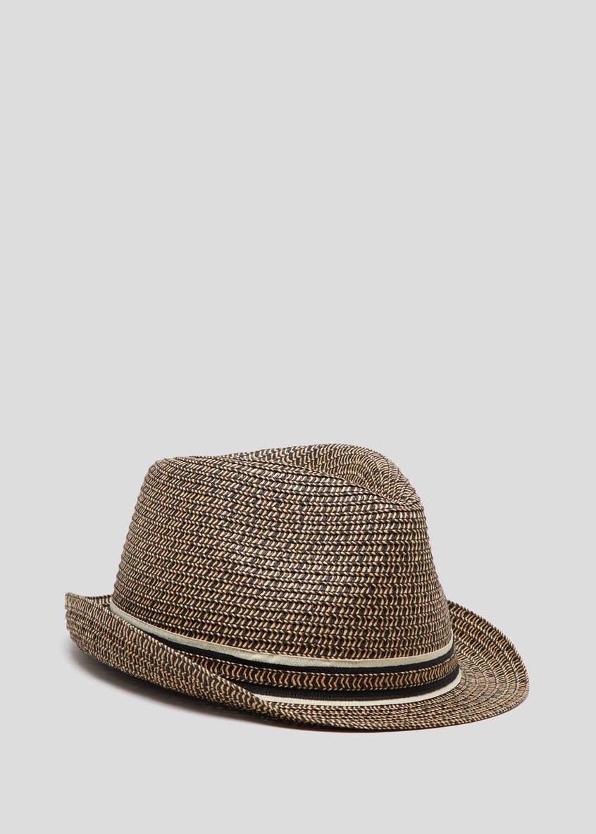 Two Tone Straw Hat