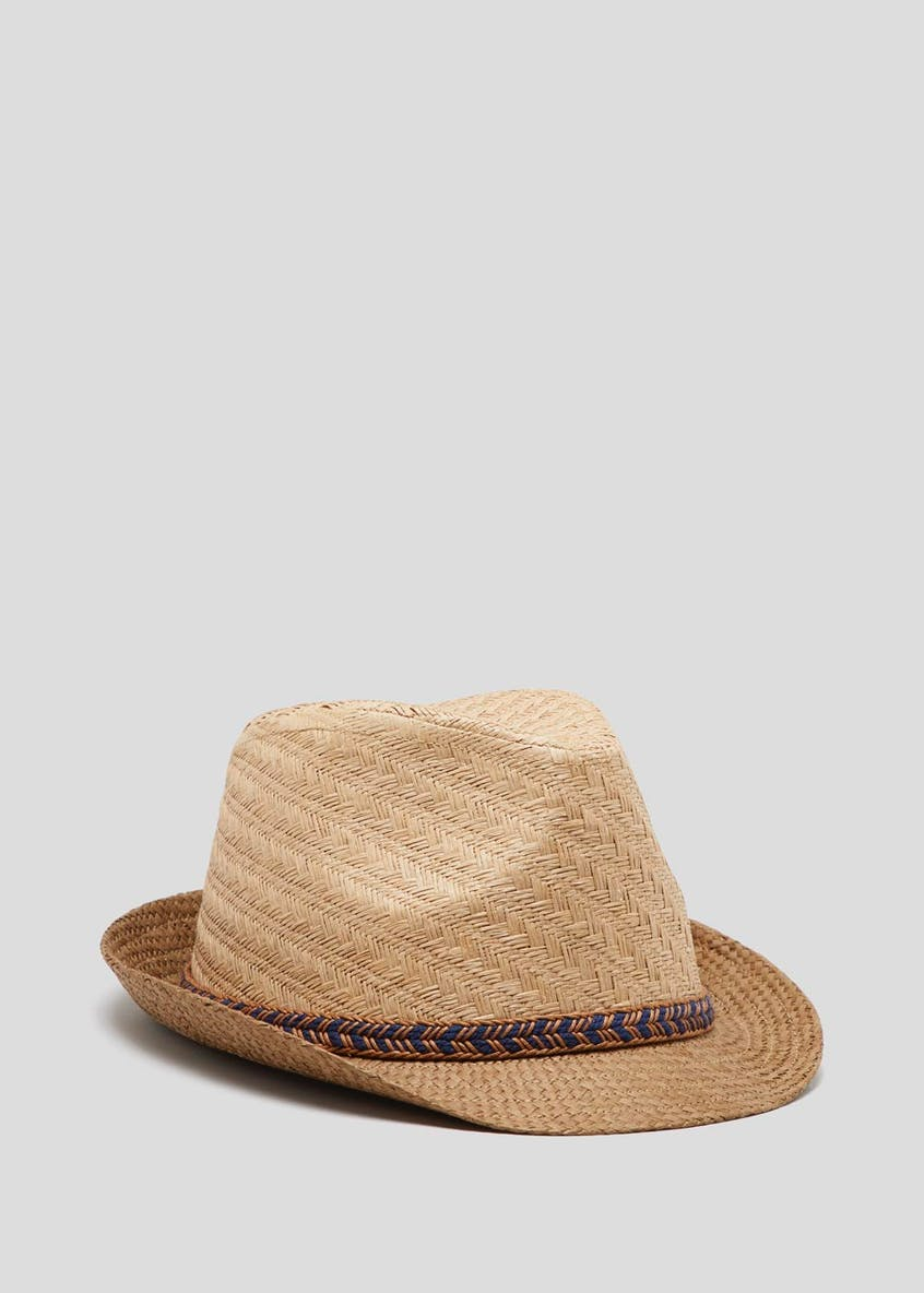 Plaited Straw Hat